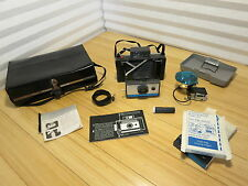 Vintage Polaroid Land Camera Automatic 210 With Case and Extras