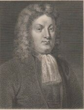 1796 Three Antique Portraits- Thomas Otway - English Dramatist -Venice Preserved