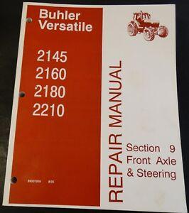 8/2005 VERSATILE TRACTOR 2145, 2160, 2180, 2210 SERVICE MANUAL PN 89007009 (845)