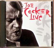 Joe Cocker Live by Joe Cocker (CD, May-1990, Capitol)