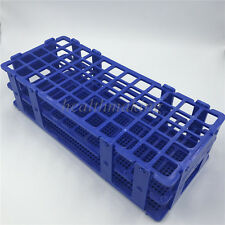 Plastic 3 Layers Lab Test Tube Rack Holder Centrifugal Pipe Stand 60 Holes