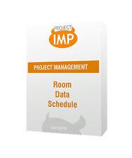 Room Data Schedule - Excel template