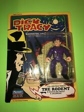 1990 Dick Tracy The Rodent Action Figure by Playmates! New Sealed!