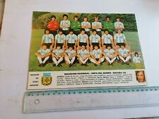 ARGENTINA FOOTBALL TEAM, WORLD CUP ESPANA 1982, POSTCARD