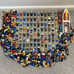 HUGE City LEGO Minifigure Job Lot Bundle Modern Police Fire Town Arctic 1.25 KG