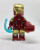IRON MAN MARVEL  ENDGAME SUPER HERO MINIFIGURE THE HERO  The Lego Movie arcade