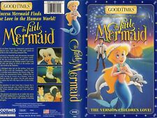 LITTLE MERMAID -Goodtimes - VHS -NTSC -NEW - Never played! -Original USA release