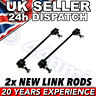 Peugeot 807 FRONT SUSPENSION ANTI ROLL BAR LINK RODS x2