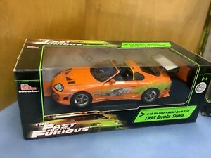 Fast And Furious brian's toyota supra 1/18 10 second car racing champions