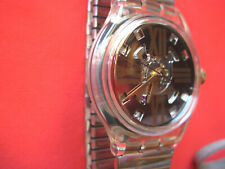 SWATCH AUTOMATIC COPPER RUSH- SAK107 - 1993 - NEW - metal steel strap LARGE