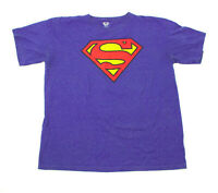 EUC Women's Superman Blue Tee Shirt US XXL 18
