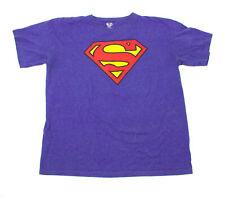 EUC Women's Superman Blue Tee Shirt US XXL 18