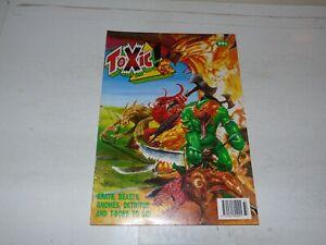 TOXIC! Comic - No 25 - Date 12/09/1991 - UK Comic