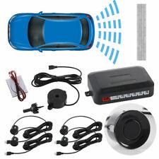 4 Parking Sensor Car Reversing Backup Rear Radar Sound Alarm System Black Ma2109