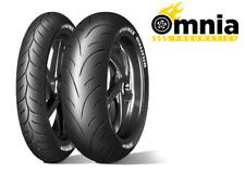 Coppia gomme moto Dunlop Sportmax Qualifier II 120/70 ZR17 58W + 180/55 ZR17 73W