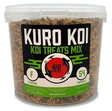 Kuro Koi - Koi Treat Mix - 1kg - Dried Fish Food Treat - High Protein