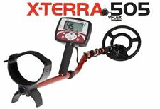 """MINELAB X-TERRA 505 CERCA METALLI METAL DETECTOR FORNITO CON PIASTRA 10.5"""""""
