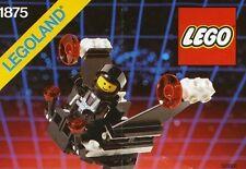 LEGO METEOR MONITOR 1875 Set Space Blacktron I 1x minifig