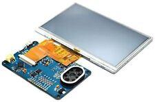 Bridgetek VM810C50A-D, FT810 EVE carta di credito 5in Modulo Touch Screen resistivo