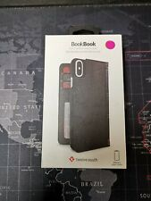 Black Twelve South BookBook iPhone X 64GB 256GB leather vintage book case cover