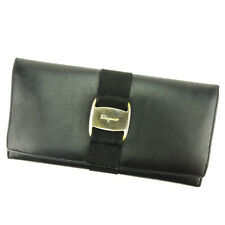 Auth Salvatore Ferragamo purse Vala Ladies used L1565