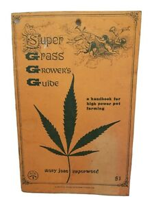 MID-CENTURY 1970 Super Grass Growers Guide Booklet Marijuana Mary Jane Superweed