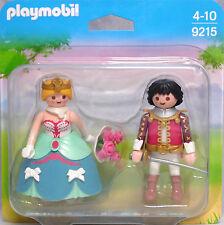 PLAYMOBIL Blister 9215 Duo Pack Prinzenpaar Prinzessin Prinz Rosen Duopack NEU