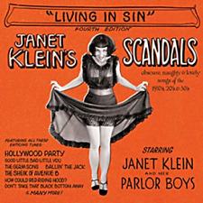 JANET KLEIN AND HER PARLOR BOYS-SCANDALS AKA 'LIVING IN SIN'-JAPAN CD D73
