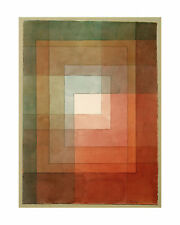 White Framed Polyphonically - Paul Klee - Fine Art Giclee Print (Various Sizes)