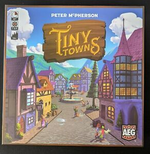 Tiny Towns - Board Game.