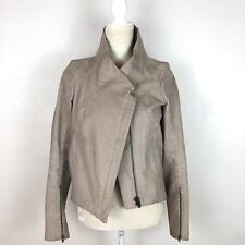 Helmut Lang Corduroy beige zip up jacket size small