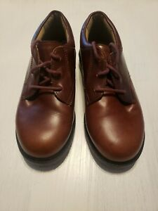 Stride rite size 2 boys dress shoes/ankle boots lace up