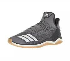 Adidas Icon 4 Turf Trainer Baseball Shoes Grey Carbon ( CG5271 ) Size 13.5
