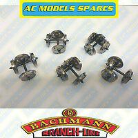 36-015 Bachmann Spare Metal 3 Hole Disc Wagon Wheels (x10)