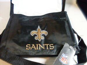 New Orleans Saints NFL 6 Pack Cooler Lunch Bag by Kolder New