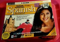 Spanish Instant Immersion Cd ROM Set 5 Discs