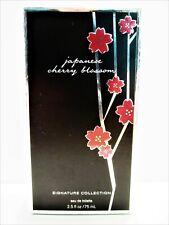 Bath Body Works JAPANESE CHERRY BLOSSOM Eau De Toilette EDT, 2.5 oz., NEW
