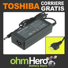 Alimentatore 19V 3,42A 65W per Toshiba Satellite Pro L830