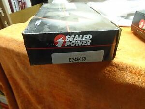 chevy buick olds desoto pontiac E243K60 Piston Ring Set 6.0 6.6 5.7 5.9 7 57-80