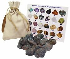 Apatite Rough Natural Stones 1 Lb (.5 Kg) Bulk Reiki Chakra Healing Crystals Mi