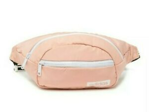 adidas Core Waist Pack Glow Pink/White Chest Bag Women's Fanny Pack One Size