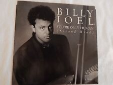 "Billy Joel ""You're Only Human"" Picture Sleeve! BRAND NEW! NICEST ONE ON eBAY!!"