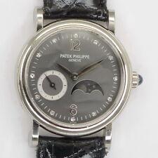 PATEK PHILIPPE Mondphase Damen Ref. 4857 18ct Weisßgold mit original Zertifikat