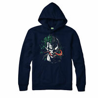 Joker and Venom Spoof Supervillians Marvel Comic, Hoodie Adult & Kids Hoodie Top