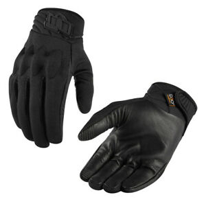 *SHIPS SAME DAY* ICON Men's Anthem 2 Motorcycle Gloves Stealth