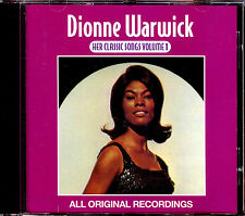 DIONNE WARWICK - HER CLASSIC SONGS VOLUME 1 - BEST OF CD ALBUM [1505]
