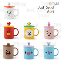 Official BTS BT21 Basic Mug+Cover 330ml(11.2oz) +Freebie+Tracking Authentic MD