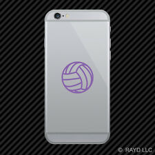 (2x) Volleyball Cell Phone Sticker Mobile Self Adhseive many colors