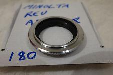 genuine bronze Minolta MD MC 49mm reverse mount  adapter japan used
