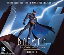 BATMAN ANIMATED SERIES Volume 3 LA-LA LAND 4-CD Ltd Edition SOUNDTRACK Score NEW